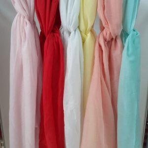 pañuelos lisos colores